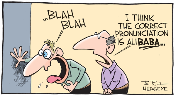ALERT: Hedgeye Hosting Big $BABA Short Call Today | @HedgeyeInternet - Alibaba cartoon 03.04.2015