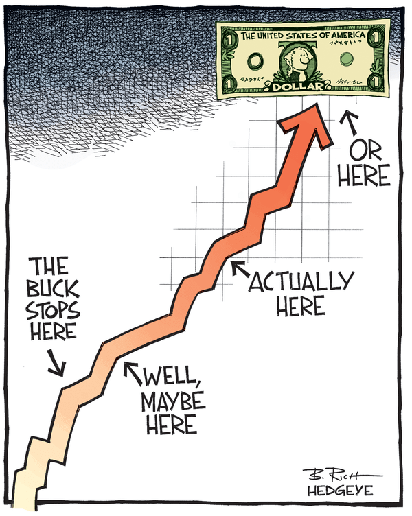 Cartoon of the Day: The Buck Stops Here - Dollar cartoon 03.11.2015