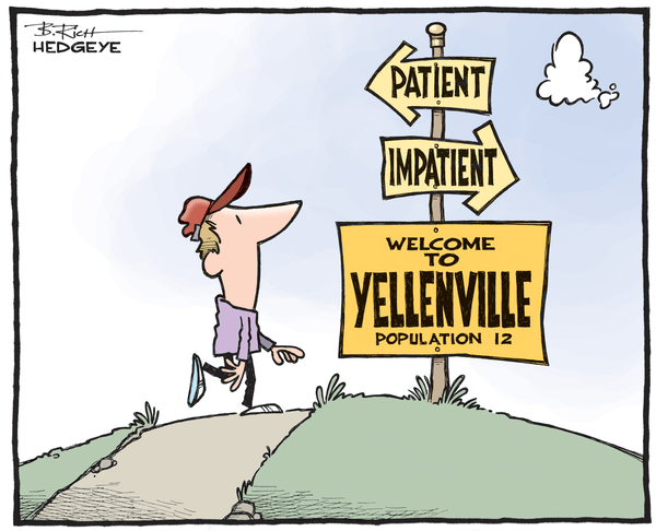 Cartoon of the Day: Yellenville - Yellenville cartoon 09.19.2015
