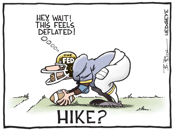 Touchdown Deflation - Fed cartoon 01.28.2015