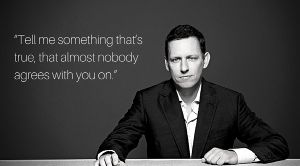 Attention Entrepreneurs: Take Peter Thiel's Book With a (Big) Grain of Salt - py2
