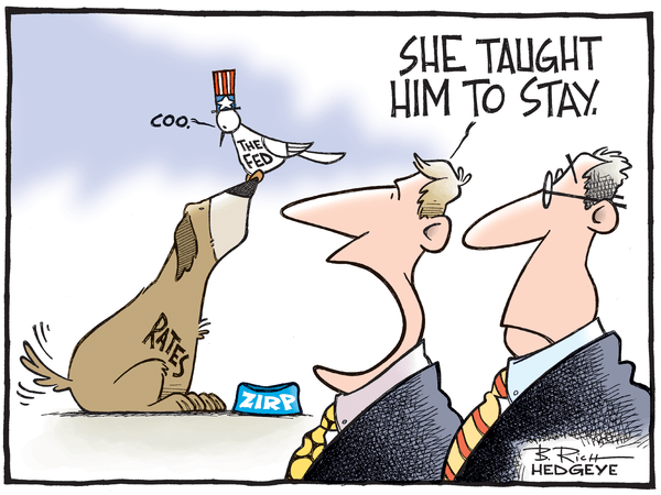 Cartoon of the Day: ZIRP Doggy Dogg - Fed rates cartoon 04.07.2015