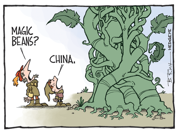 Cartoon of the Day: Fee! Fie! Foe! Fum! - China cartoon 04.27.2015