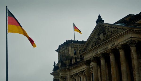 EWG: Removing German Equities from Investing Ideas - Geramany flag building full