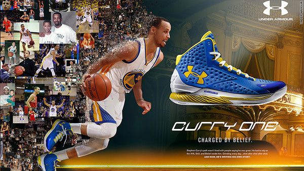 Under Armour Strikes Gold With These Three Epic Athletes | $UA - z curry