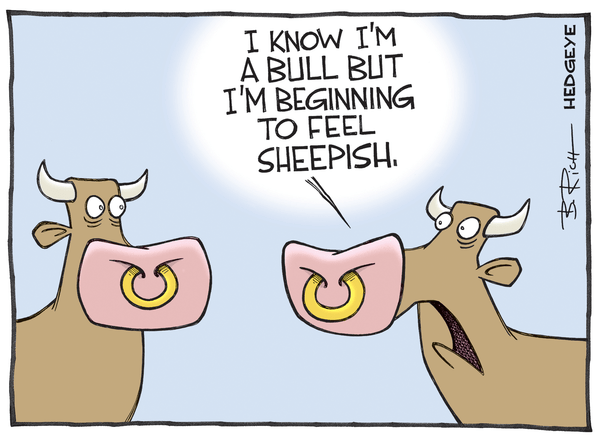 Cartoon of the Day: Sheepish - Sheepish bull cartoon 05.05.2015