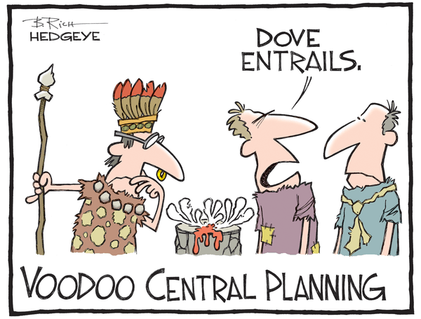 Cartoon of the Day: Entrails - Central planning voodoo cartoon 05.07.2015