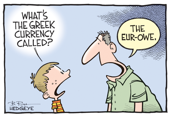 Cartoon of the Day: The Eur-Owe - Greece cartoon 05.11.2015
