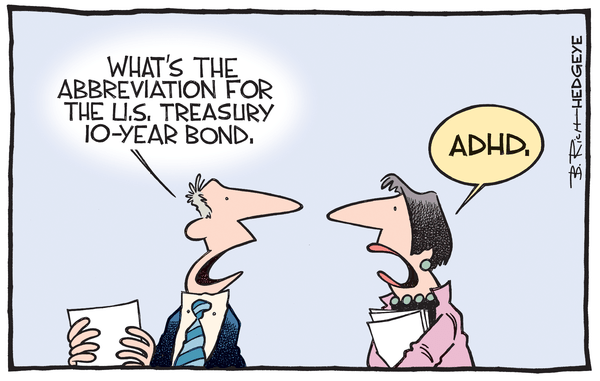 Cartoon of the Day: Hyperactive  - Bond cartoon 05.13.2015
