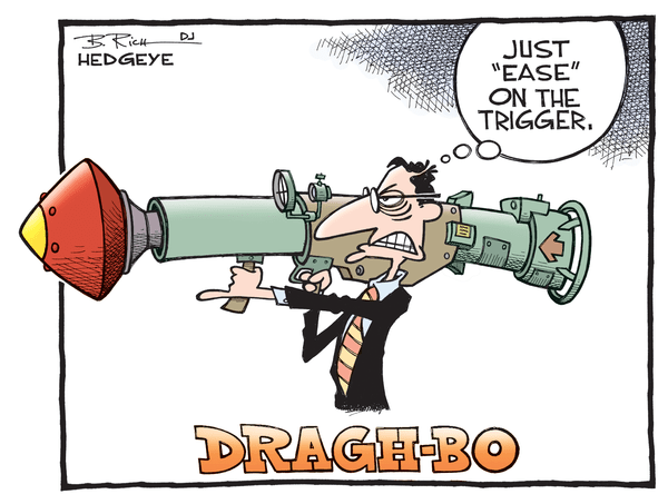 Cartoon of the Day: ECB Bazooka - Draghi cartoon 05.15.2015