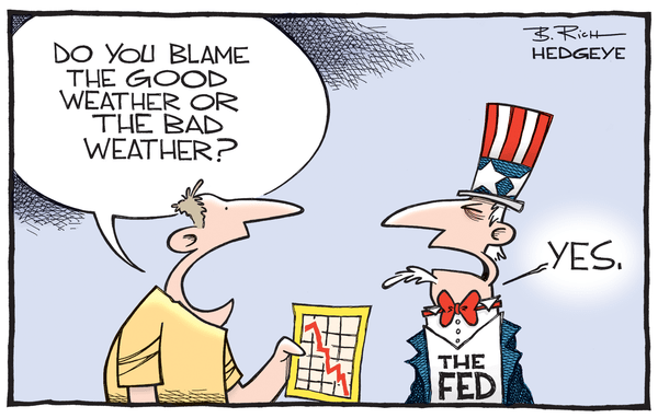Cartoon of the Day: Blame the Weather - Blame the weather cartoon 05.26.2015