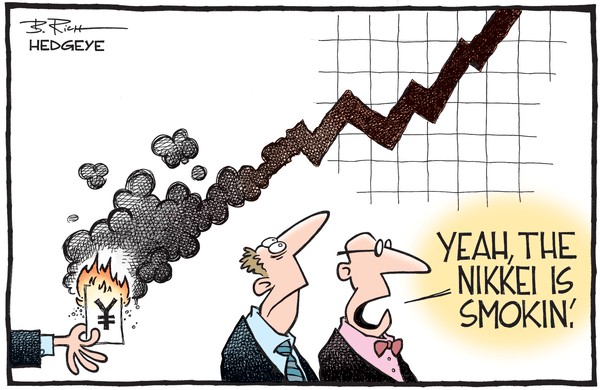 This Market Move Hasn't Happened In 27 Years - Nikkei cartoon 05.27.2015