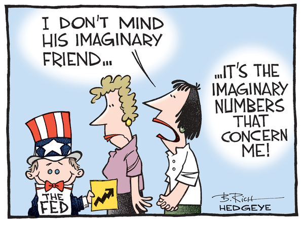 Cartoon of the Day: A Fertile Imagination - Fed cartoon 06.01.2015