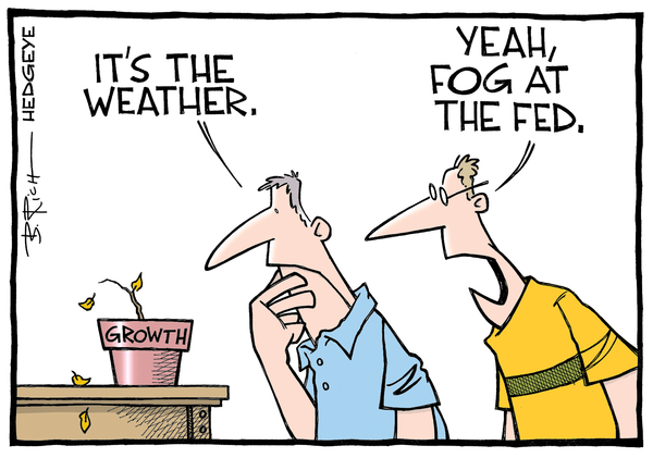 Cartoon of the Day: Foggy Fed - Fed cartoon 06.02.2015