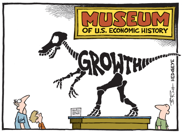 Dollar Down, Rates Up? - Growth cartoon 05.19.2015