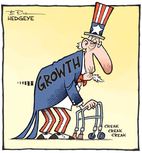 Cartoon of the Day: Geriatric U.S. Growth - Growth cartoon 06.10.2015