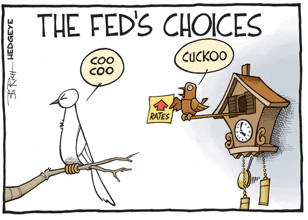 Cartoon of the Day: Cuckoo Fed? - Fed cartoon 06.11.2015