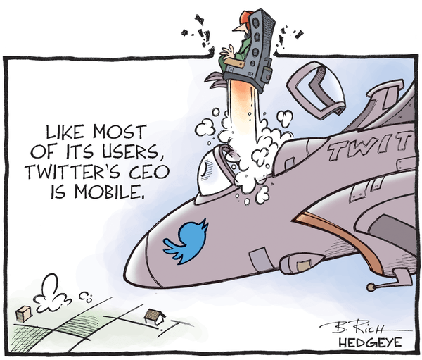 Cartoon of the Day: Dick Exits | $TWTR - Twitter cartoon 06.12.2015