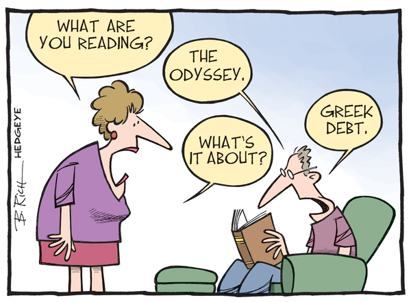 Cartoon of the Day: The Odyssey - Greek debt cartoon 06.15.2015