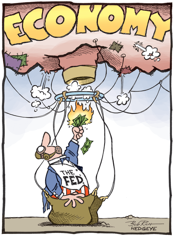 Our 9 Favorite #Fed Cartoons From (The Man, The Myth, The Legend) Hedgeye Cartoonist Bob Rich - Fed balloon03.25.14