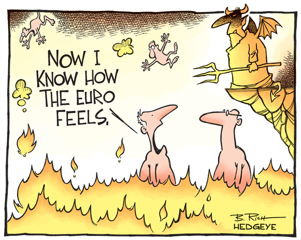 Cartoon of the Day: Currency Hell - Euro hell cartoon