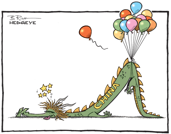 Cartoon of the Day: Balloons Over Beijing - China cartoon 07.07.2015