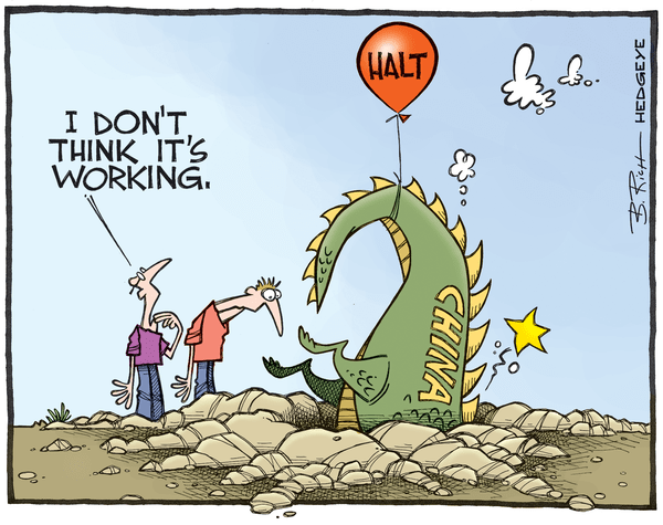 Cartoon of the Day: China Dragon? - China cartoon 07.15.2015