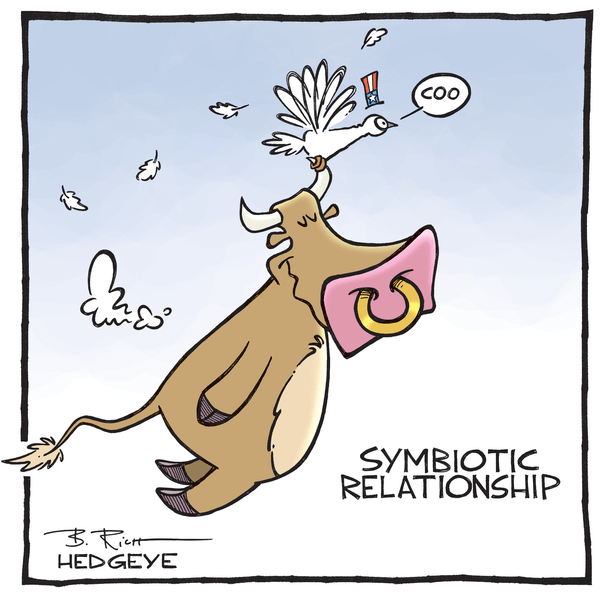 Investing Ideas Newsletter       - Bull   dove cartoon 06.26.2015
