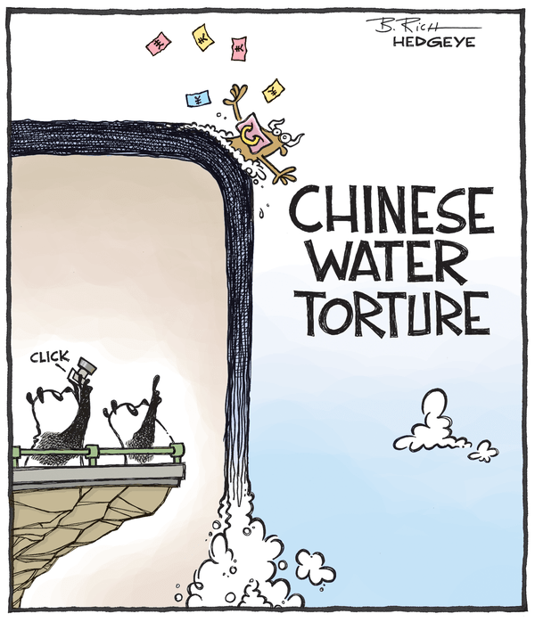 Cartoon of the Day: Long China? - China cartoon 07.28.2015