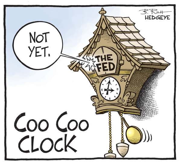 Cartoon of the Day: Coo Coo Clock - Fed cartoon 07.30.2015