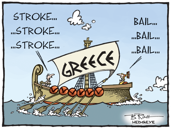 Cartoon of the Day: Bail! - Greece cartoon 08.14.2015