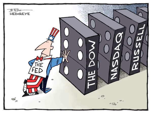Cartoon of the Day:  Dominoes - Fed cartoon 08.17.2015