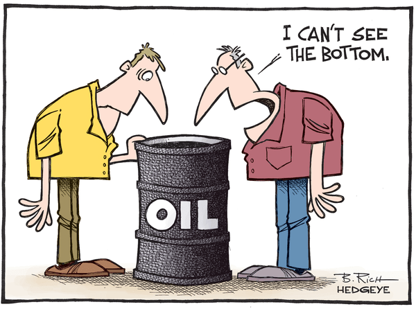 Cartoon of the Day: A Crude Reality - Oil cartoon 08.18.2015