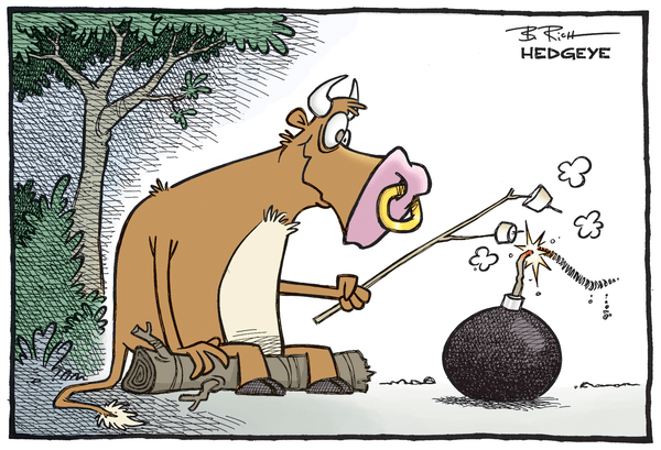 Cartoon of the Day: Bull Bomb - Bull bomb cartoon 09.01.2015