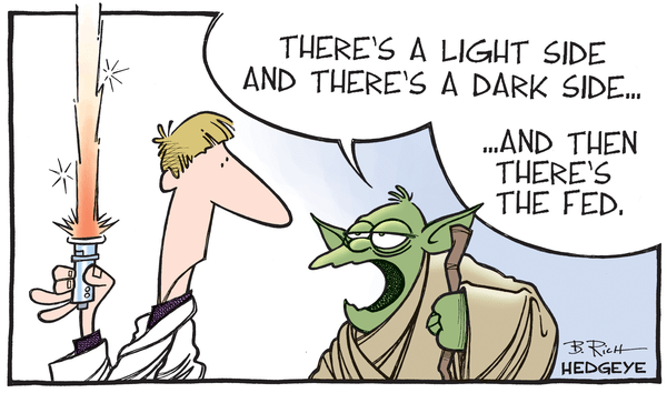 Cartoon of the Day: May The Farce Be With You - Yoda Fed cartoon 09.10.2015