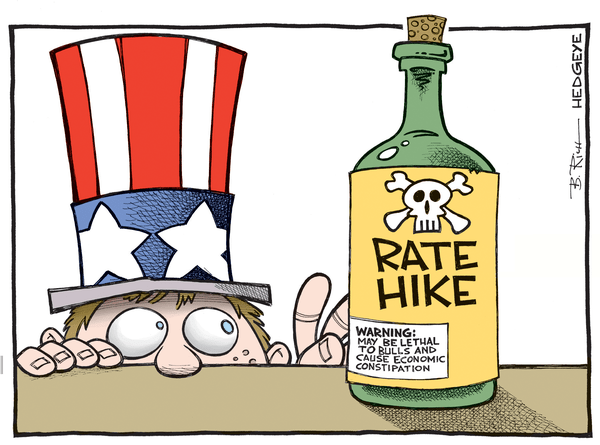 Cartoon of the Day: Poison? - rate hike poison cartoon 09 14.2015