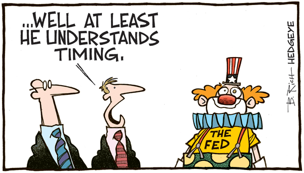 Investing Ideas Newsletter      - No rate hike cartoon 09.17.205