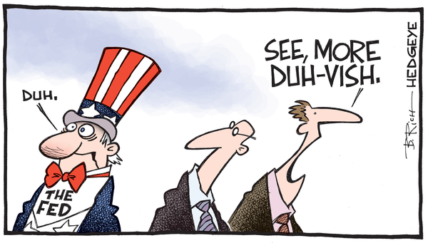 Cartoon of the Day: Duh Fed! - Fed Duh cartoon 09.18.2015