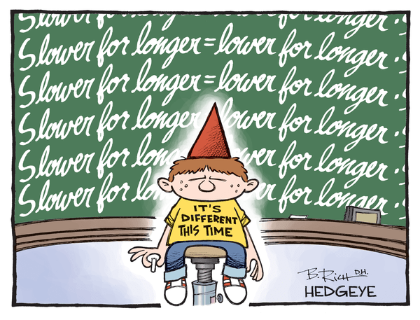 Cartoon of the Day: Don't Be a Dunce! - Slower for longer cartoon 09.25.2015