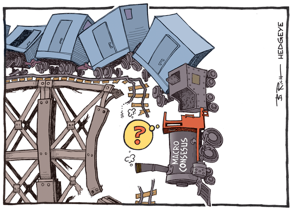 Cartoon of the Day: Train Wreck - Consensus train wreck cartoon 09.30.2015
