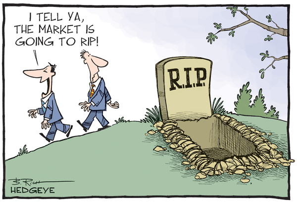 Cartoon of the Day: Grave Danger? - The market is going to rip cartoon 10.06.2015