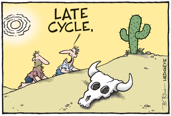 Cartoon of the Day: High Noon? - late cycle cartoon 10.08.2015