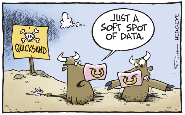 Cartoon of the Day: Consensus Quicksand - Soft spot of data cartoon 10.16.2015