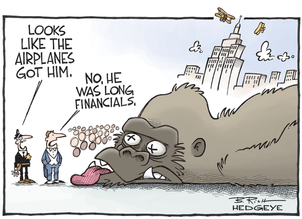 Cartoon of the Day: Monkey Business - Long financials cartoon 10.21.2015