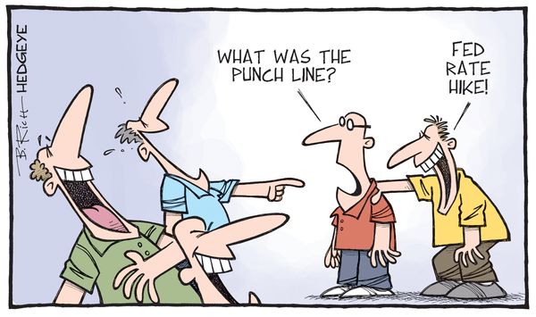 CLAIMS | WHY THIS CYCLE IS MORE LIKE PRIOR CYCLES THAN MOST REALIZE - rate hike cartoon 10.15.2015 normal