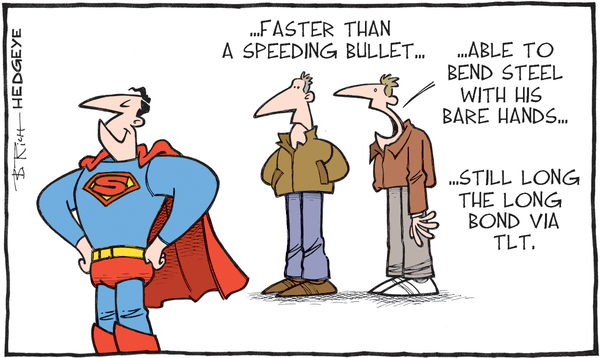 Cartoon of the Day: Super Bond Man! - TLT cartoon 10.23.2015