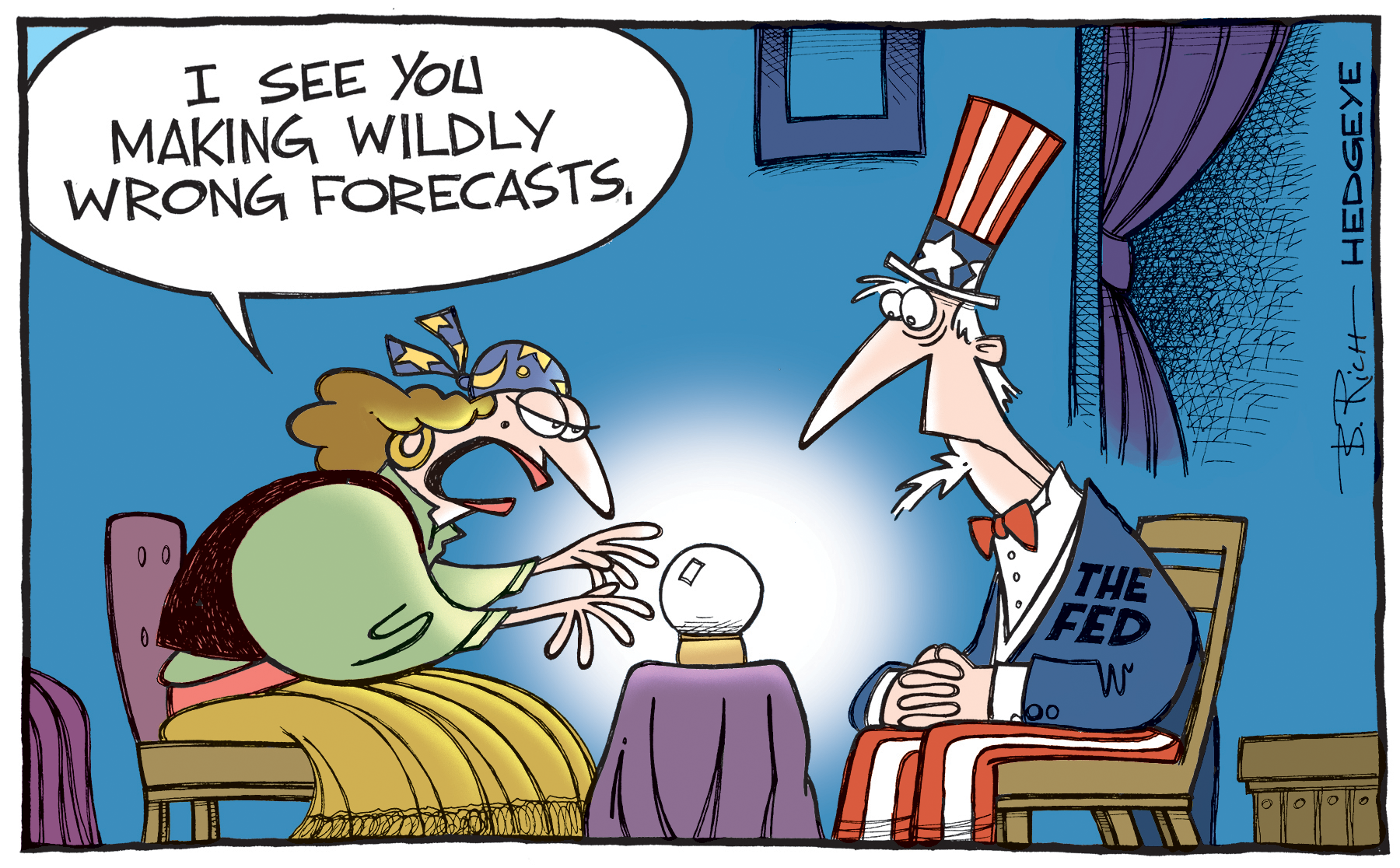 Cartoon of the Day: Fed Fortune-Telling