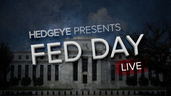 """Fed Day Live"" w/Keith McCullough Today at 2:10PM ET - HE fedday live email invite"