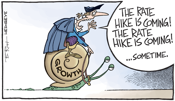 Cartoon of the Day: Redcoats And Rate Hikes - rate hike cartoon 10.28.2015