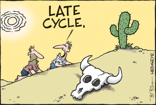 How to Be Positioned For a #LateCycle Slowdown - late cycle